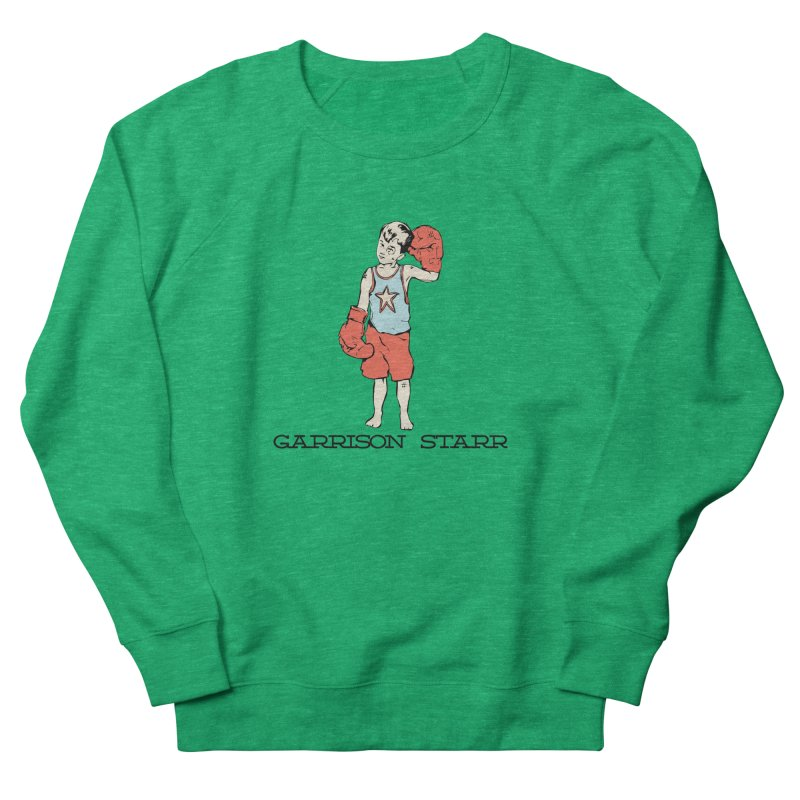 Amateur Boy - Color Women's French Terry Sweatshirt by Garrison Starr's Artist Shop