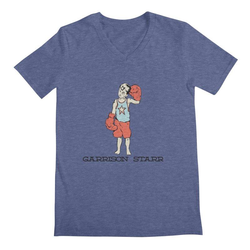 Amateur Boy - Color Men's Regular V-Neck by Garrison Starr's Artist Shop