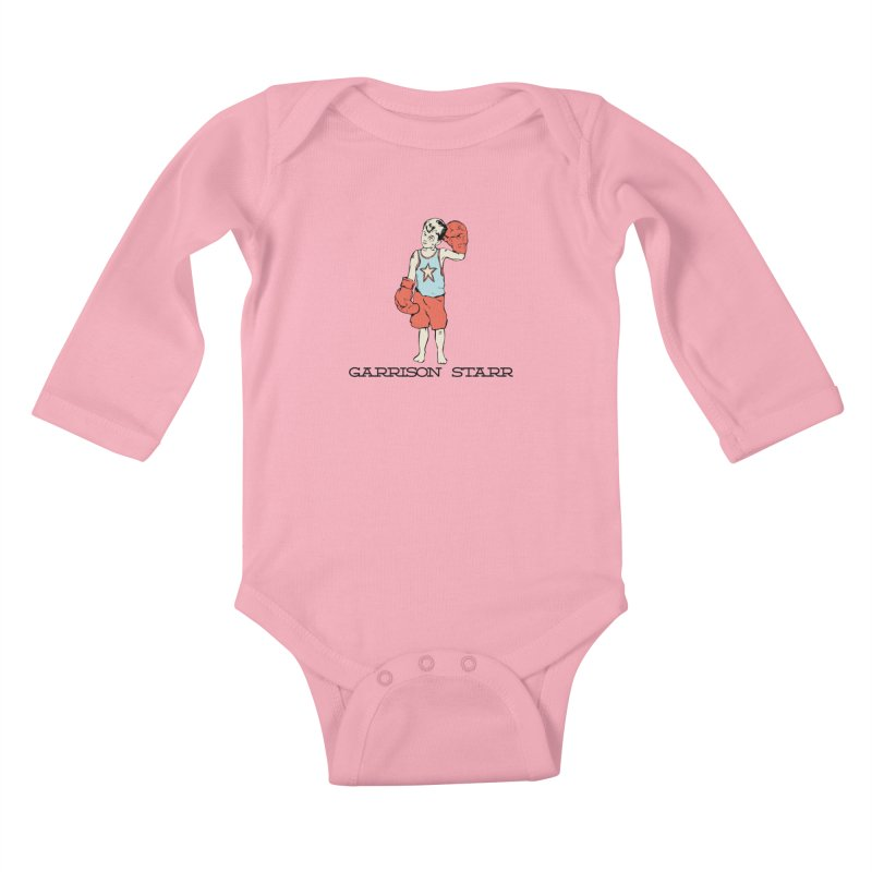 Amateur Boy - Color Kids Baby Longsleeve Bodysuit by Garrison Starr's Artist Shop
