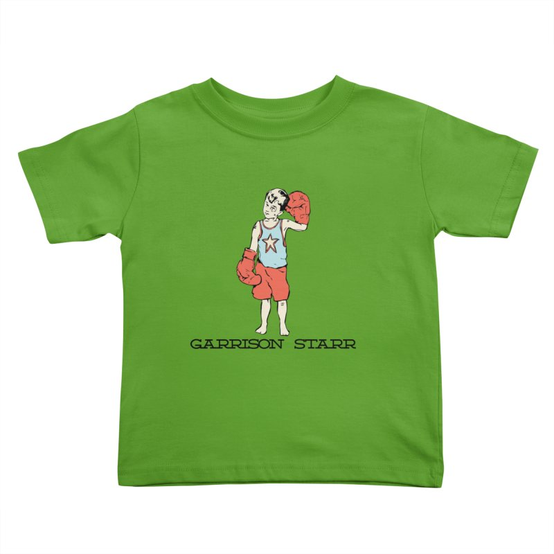 Amateur Boy - Color Kids Toddler T-Shirt by Garrison Starr's Artist Shop