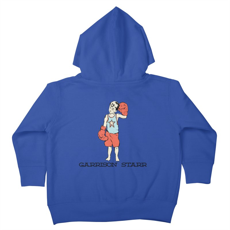 Amateur Boy - Color Kids Toddler Zip-Up Hoody by Garrison Starr's Artist Shop