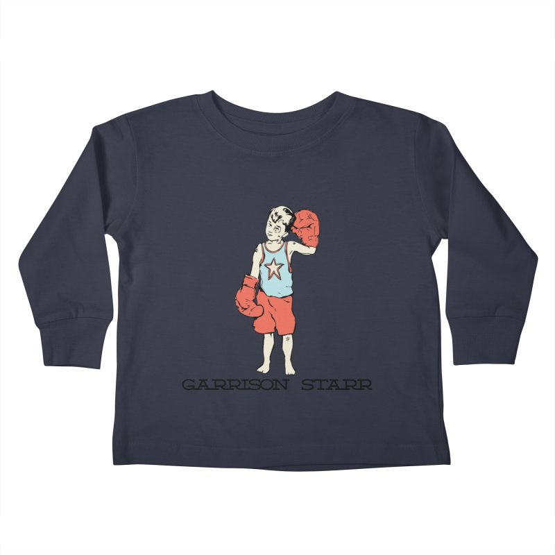 Amateur Boy - Color Kids Toddler Longsleeve T-Shirt by Garrison Starr's Artist Shop