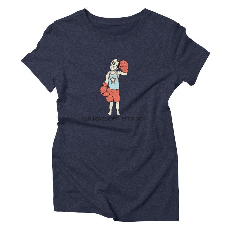 Amateur Boy - Color Women's Triblend T-Shirt by Garrison Starr's Artist Shop
