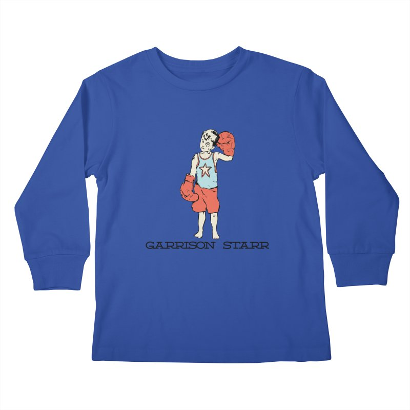 Amateur Boy - Color Kids Longsleeve T-Shirt by Garrison Starr's Artist Shop