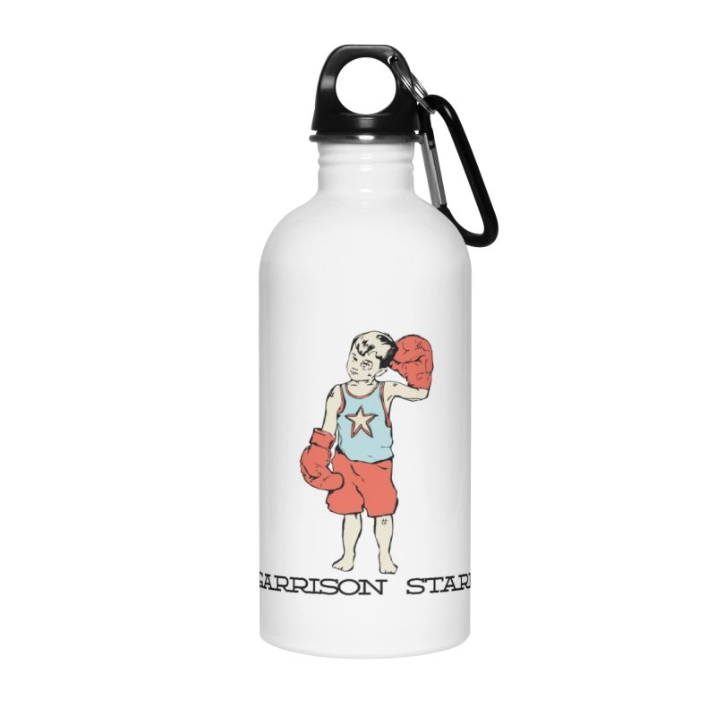 Amateur Boy - Color Accessories Water Bottle by Garrison Starr's Artist Shop