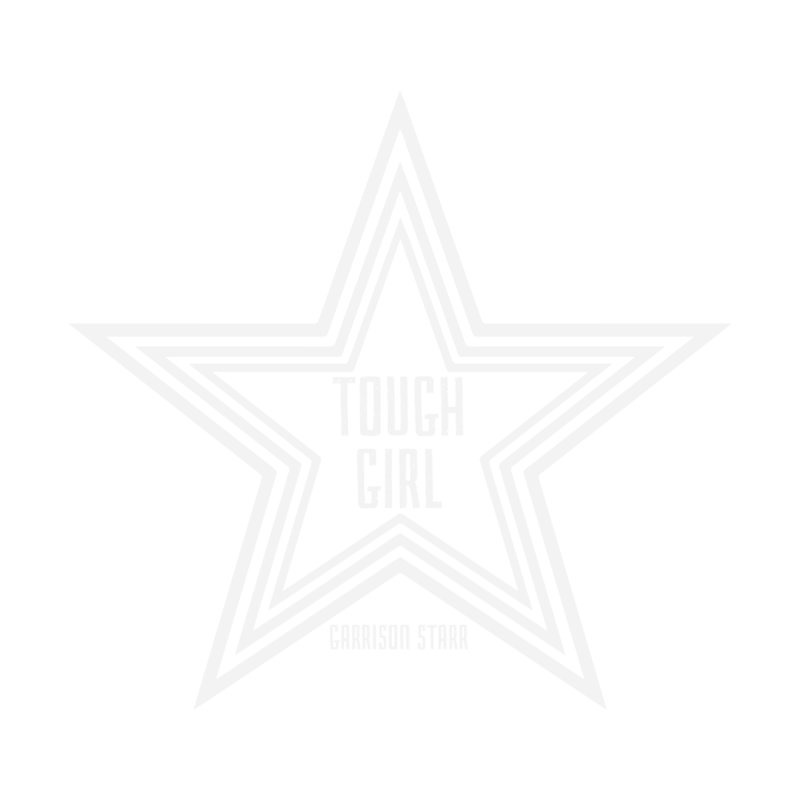 Tough Girl Star - Light Gray by Garrison Starr's Artist Shop