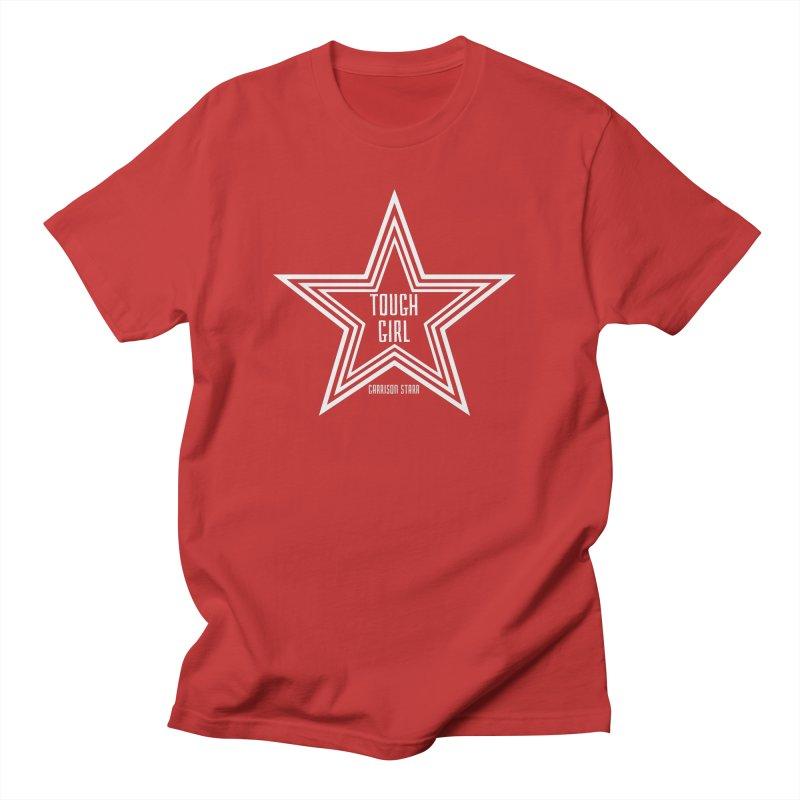 Tough Girl Star - Light Gray Men's T-Shirt by Garrison Starr's Artist Shop