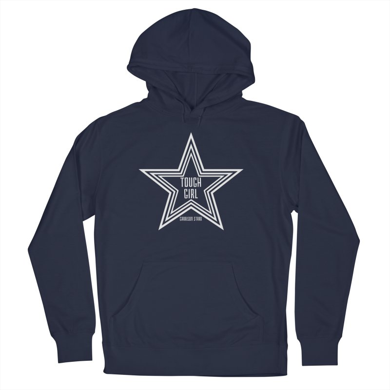 Tough Girl Star - Light Gray Men's Pullover Hoody by Garrison Starr's Artist Shop