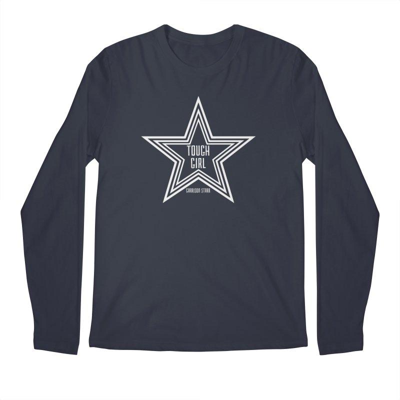 Tough Girl Star - Light Gray Men's Longsleeve T-Shirt by Garrison Starr's Artist Shop