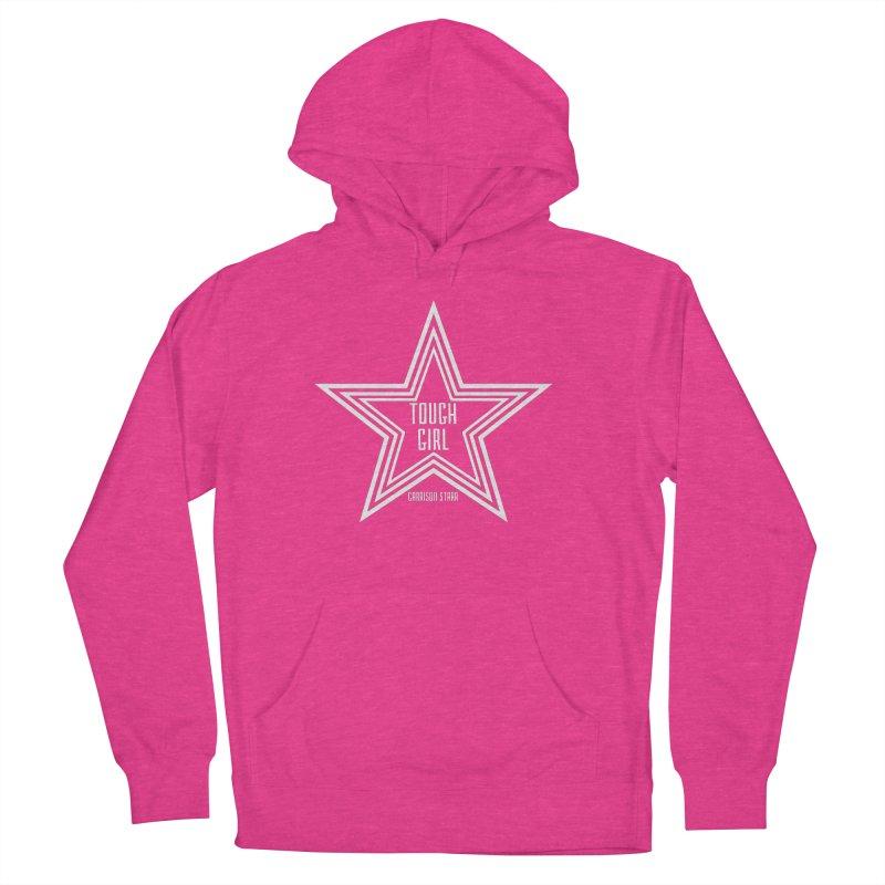 Tough Girl Star - Light Gray Men's Pullover Hoody by Garrison Starr's Artist Shop