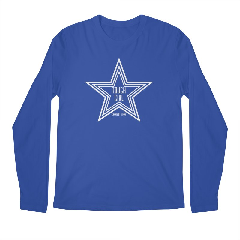 Tough Girl Star - Light Gray Men's Regular Longsleeve T-Shirt by Garrison Starr's Artist Shop