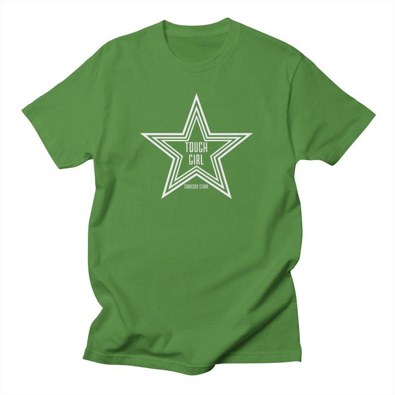 Tough Girl Star - Light Gray Women's Regular Unisex T-Shirt by Garrison Starr's Artist Shop