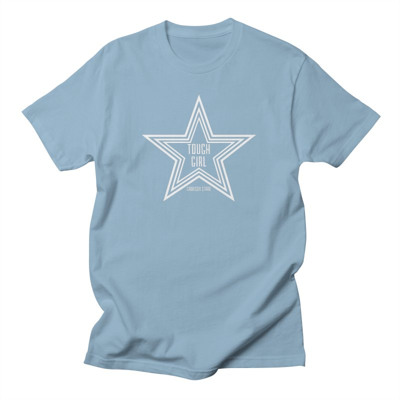 Tough Girl Star - Light Gray Women's Unisex T-Shirt by Garrison Starr's Artist Shop