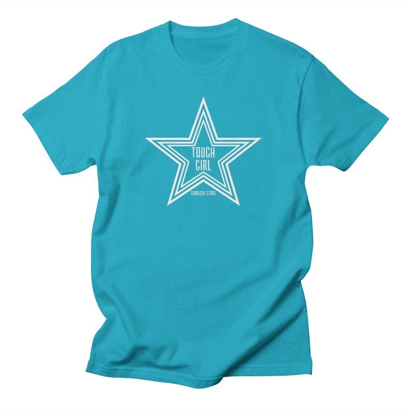 Tough Girl Star - Light Gray Men's Regular T-Shirt by Garrison Starr's Artist Shop