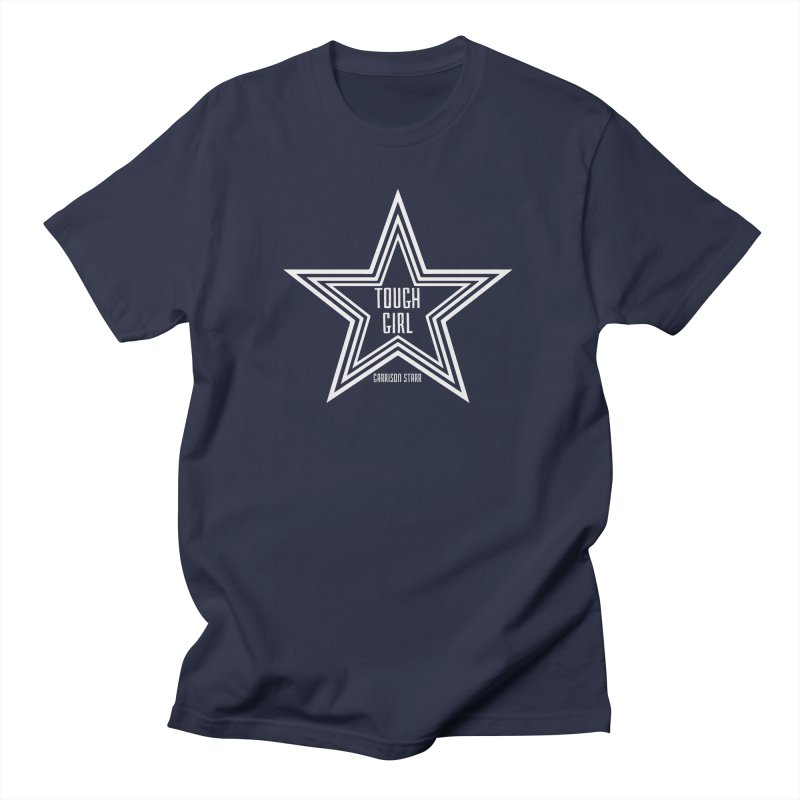 Tough Girl Star - Light Gray Women's Regular Unisex T-Shirt by Garrison Starr's Artist Shop