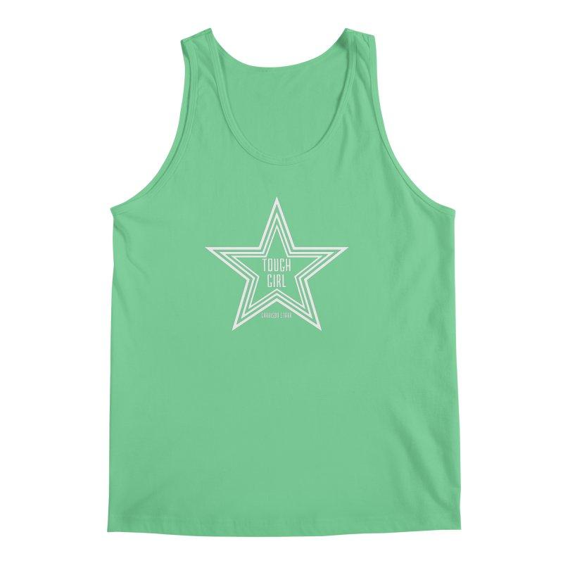 Tough Girl Star - Light Gray Men's Regular Tank by Garrison Starr's Artist Shop