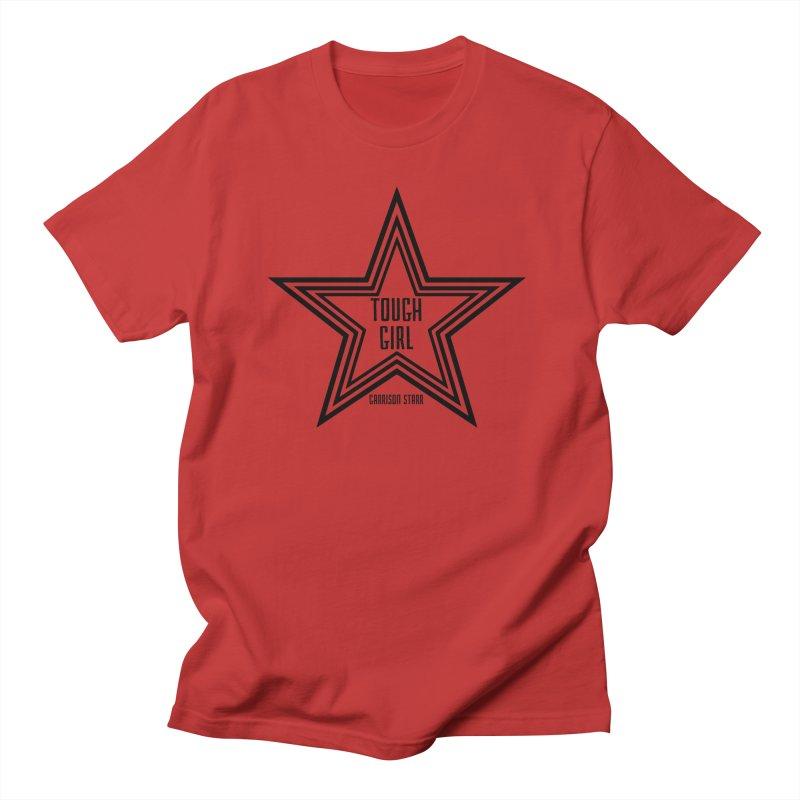 Tough Girl Star - Black Men's T-Shirt by Garrison Starr's Artist Shop
