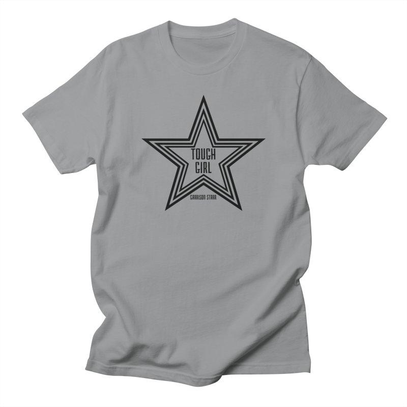 Tough Girl Star - Black Men's Regular T-Shirt by Garrison Starr's Artist Shop