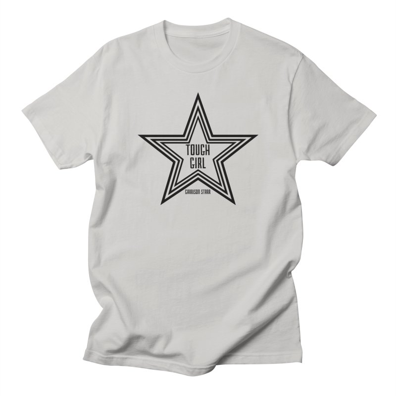 Tough Girl Star - Black Women's T-Shirt by Garrison Starr's Artist Shop