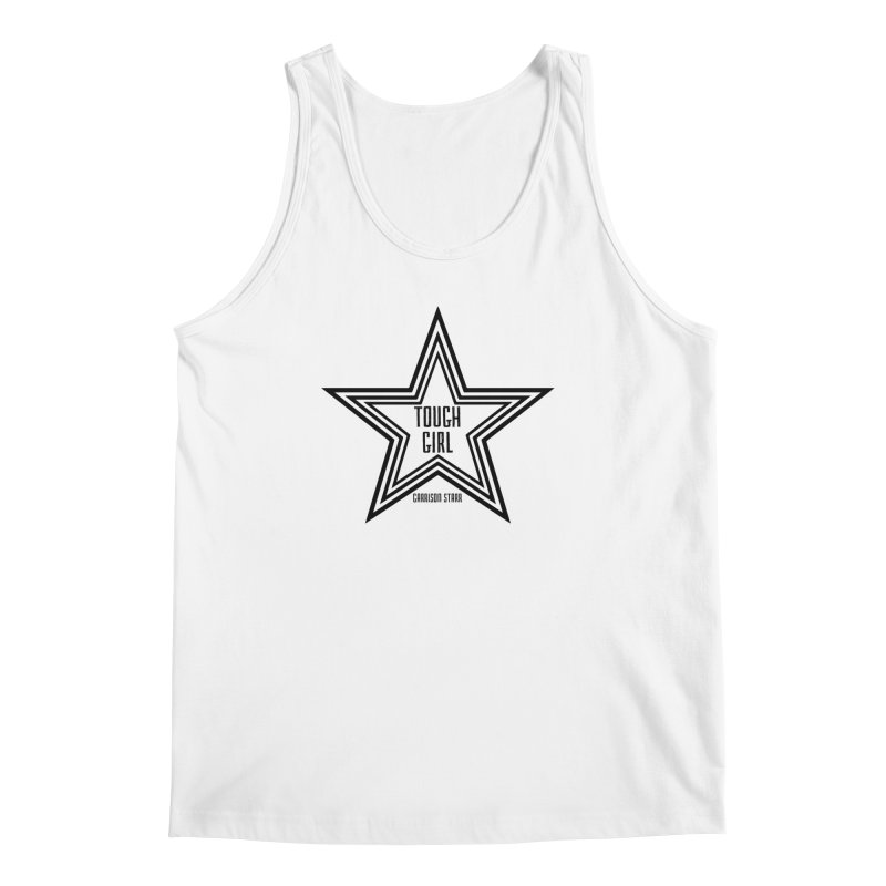 Tough Girl Star - Black Men's Regular Tank by Garrison Starr's Artist Shop
