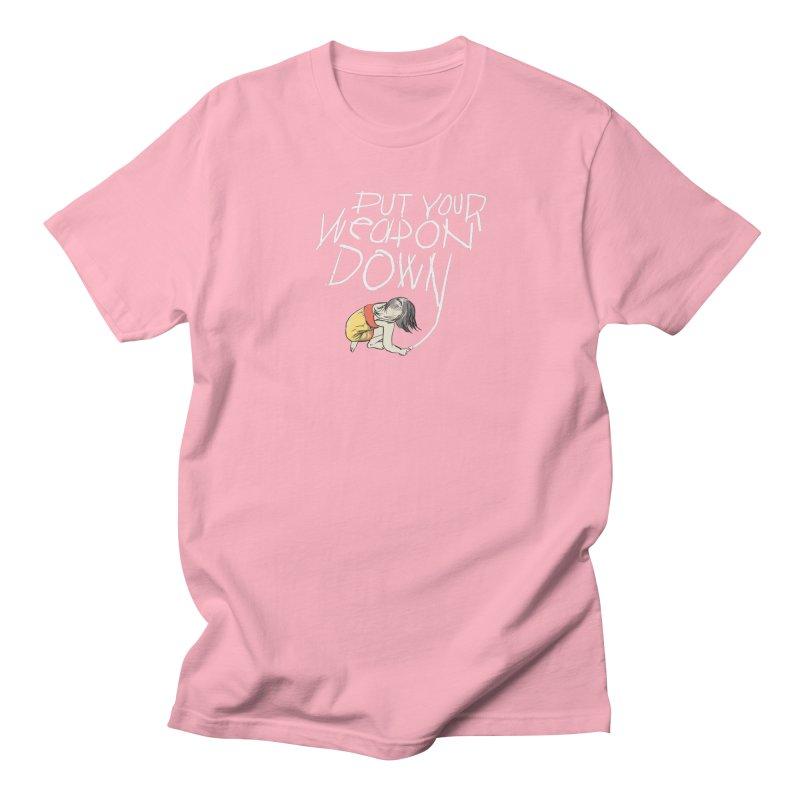 Put Your Weapon Down Men's T-Shirt by Garrison Starr's Artist Shop