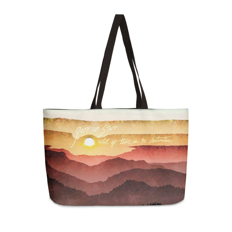 What If There Is No Destination Accessories Bag by Garrison Starr's Artist Shop