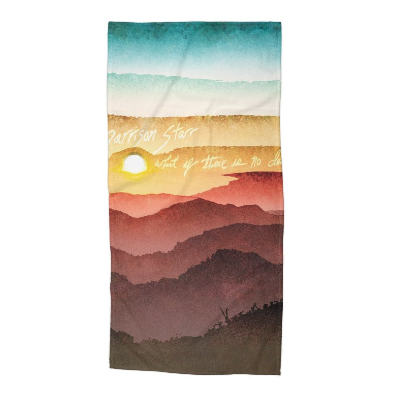 What If There Is No Destination Accessories Beach Towel by Garrison Starr's Artist Shop