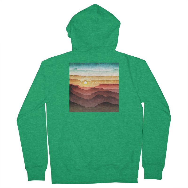 What If There Is No Destination Women's Zip-Up Hoody by Garrison Starr's Artist Shop