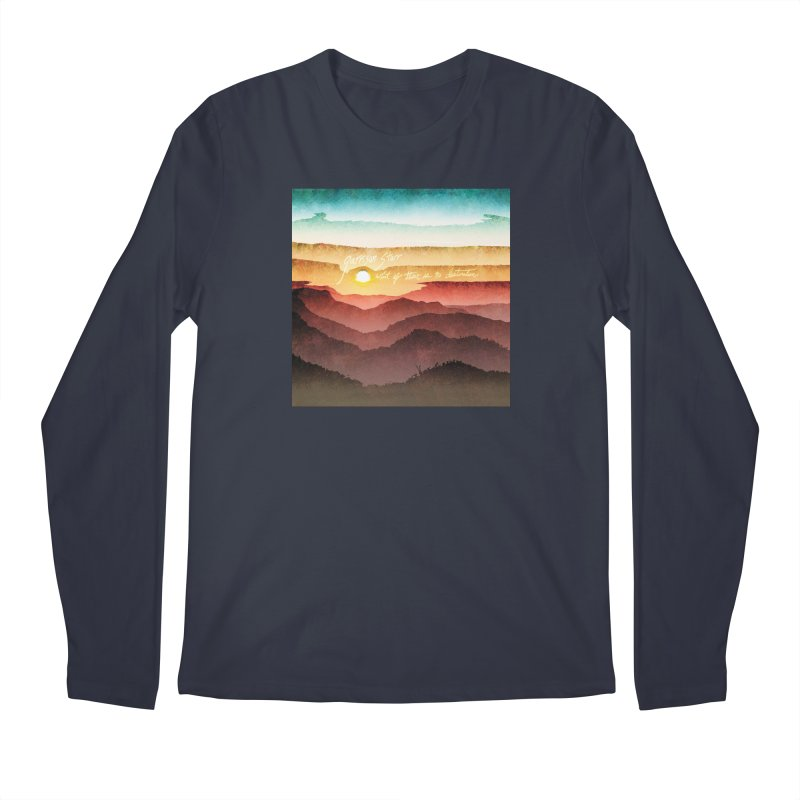What If There Is No Destination Men's Regular Longsleeve T-Shirt by Garrison Starr's Artist Shop
