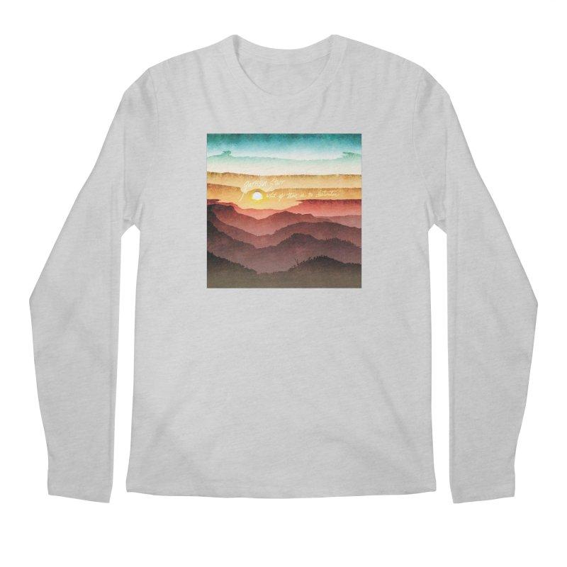 What If There Is No Destination Men's Regular Longsleeve T-Shirt by Garrison Starr's Artist Shop