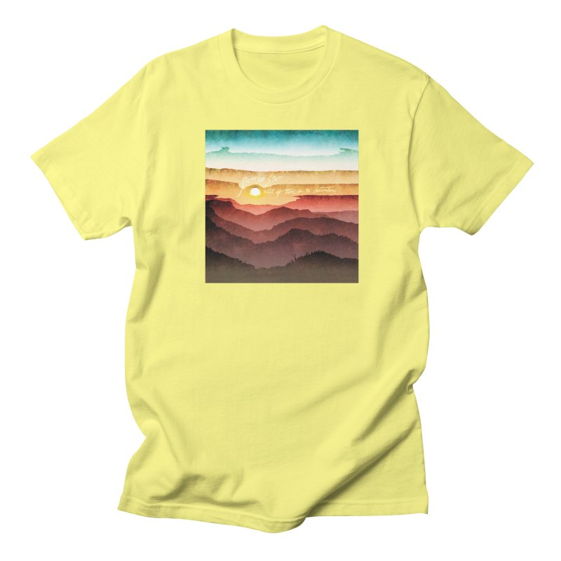 What If There Is No Destination Women's Regular Unisex T-Shirt by Garrison Starr's Artist Shop