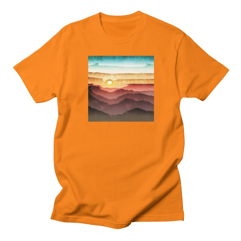 What If There Is No Destination Men's T-Shirt by Garrison Starr's Artist Shop
