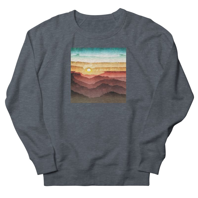 What If There Is No Destination Women's French Terry Sweatshirt by Garrison Starr's Artist Shop