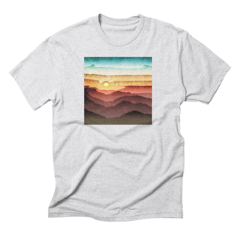 What If There Is No Destination Men's Triblend T-Shirt by Garrison Starr's Artist Shop