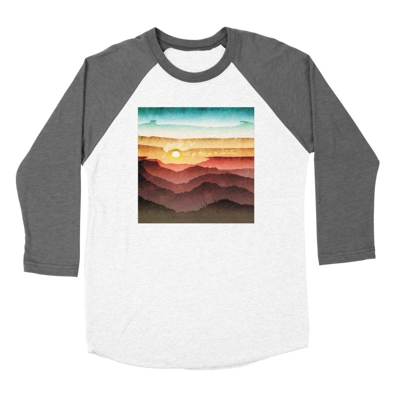What If There Is No Destination Men's Baseball Triblend T-Shirt by Garrison Starr's Artist Shop