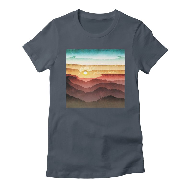 What If There Is No Destination Women's T-Shirt by Garrison Starr's Artist Shop