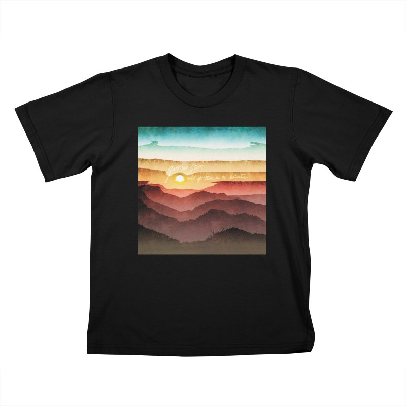 What If There Is No Destination Kids T-Shirt by Garrison Starr's Artist Shop