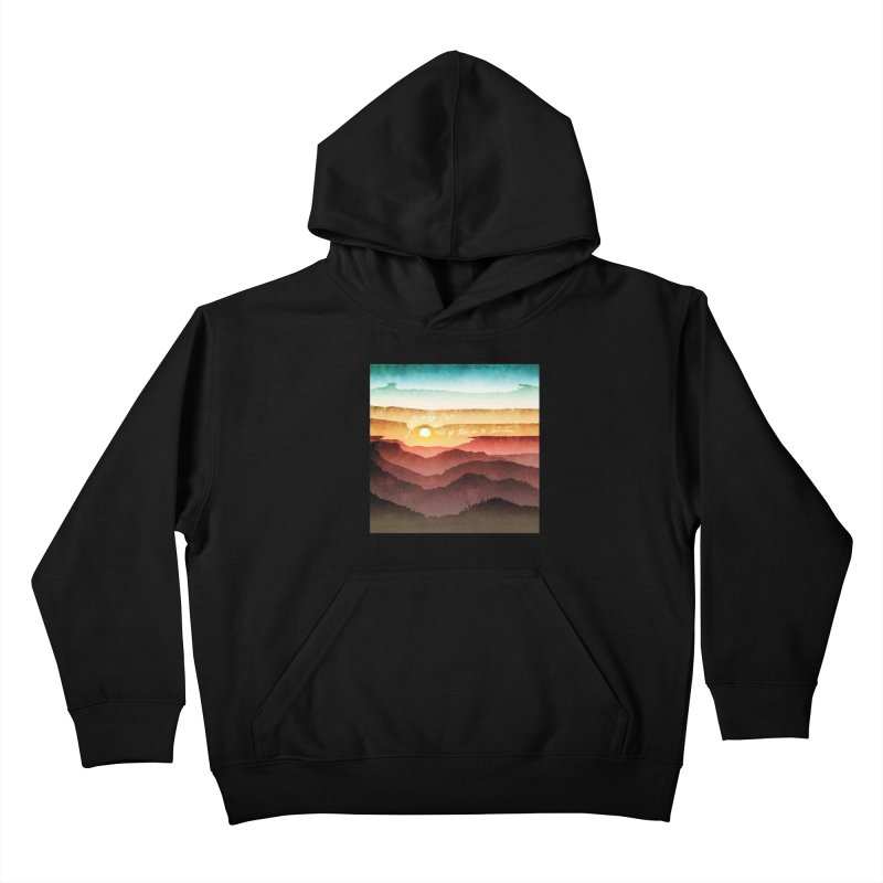 What If There Is No Destination Kids Pullover Hoody by Garrison Starr's Artist Shop