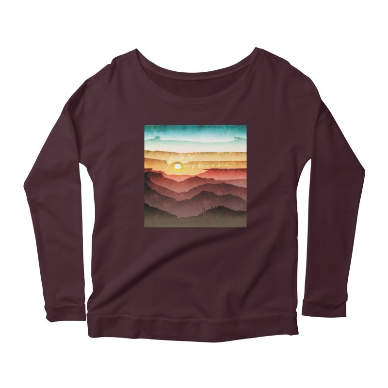 What If There Is No Destination Women's Longsleeve T-Shirt by Garrison Starr's Artist Shop