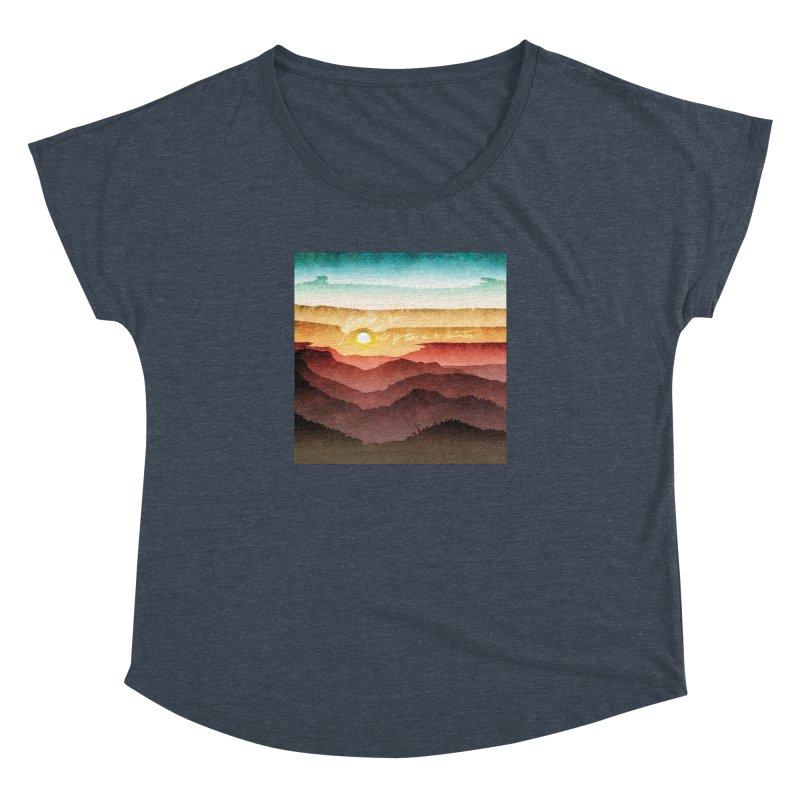 What If There Is No Destination Women's Dolman Scoop Neck by Garrison Starr's Artist Shop