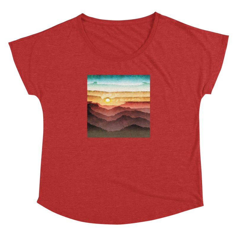 What If There Is No Destination Women's Dolman by Garrison Starr's Artist Shop