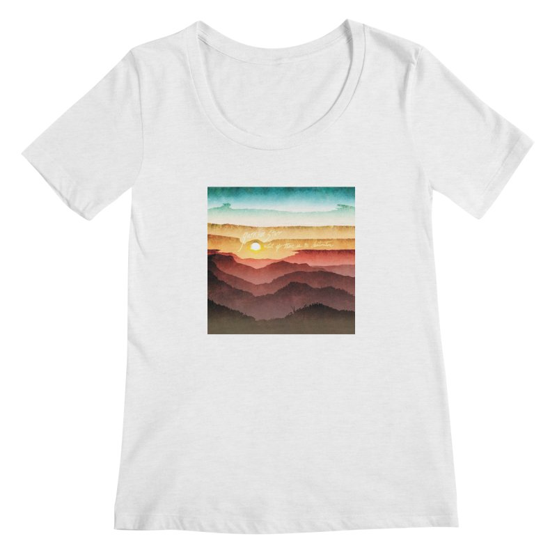 What If There Is No Destination Women's Scoop Neck by Garrison Starr's Artist Shop
