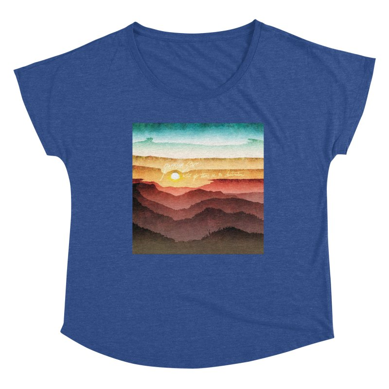 What If There Is No Destination Women's Dolman Scoop Neck by Garrison Starr's Artist Shop