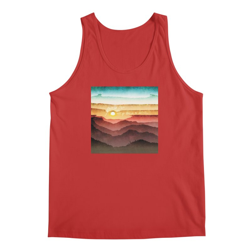 What If There Is No Destination Men's Regular Tank by Garrison Starr's Artist Shop