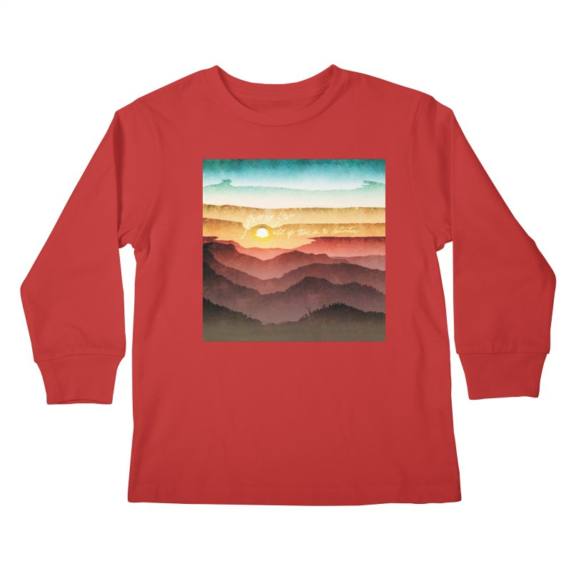 What If There Is No Destination Kids Longsleeve T-Shirt by Garrison Starr's Artist Shop