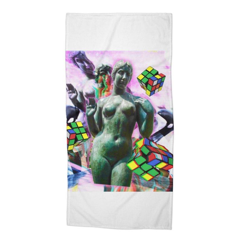 V€NUS Accessories Beach Towel by garyindigo's Artist Shop