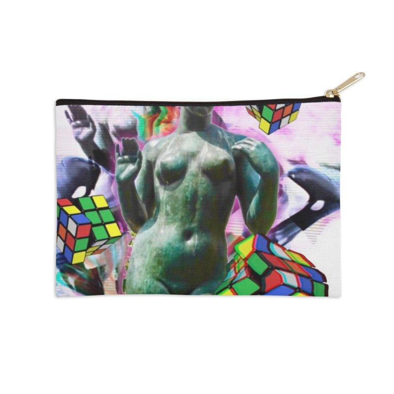V€NUS Accessories Zip Pouch by garyindigo's Artist Shop