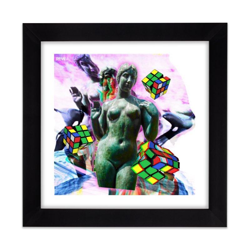V€NUS Home Framed Fine Art Print by garyindigo's Artist Shop