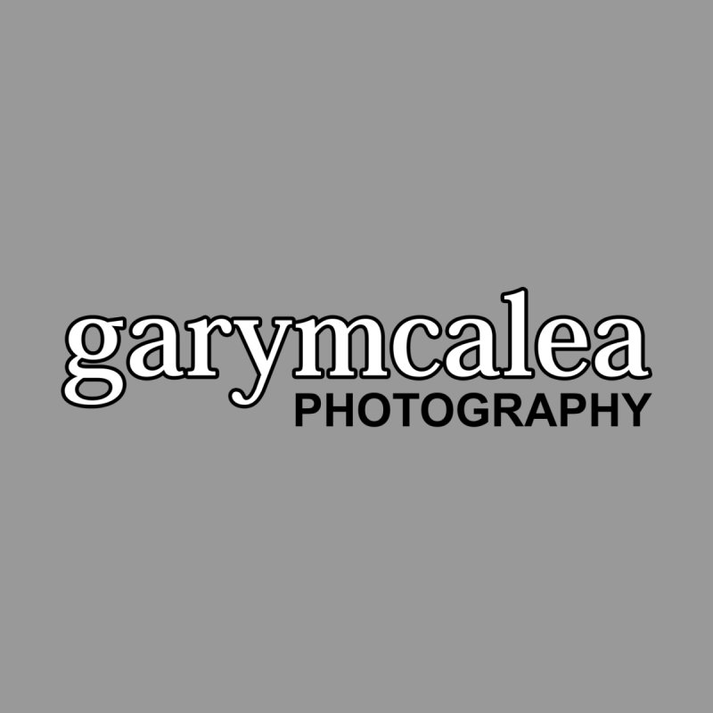 Gary Mc Alea Photography - Black Outline Logo Men's T-Shirt by Gary Mc Alea Photography's Artist Shop