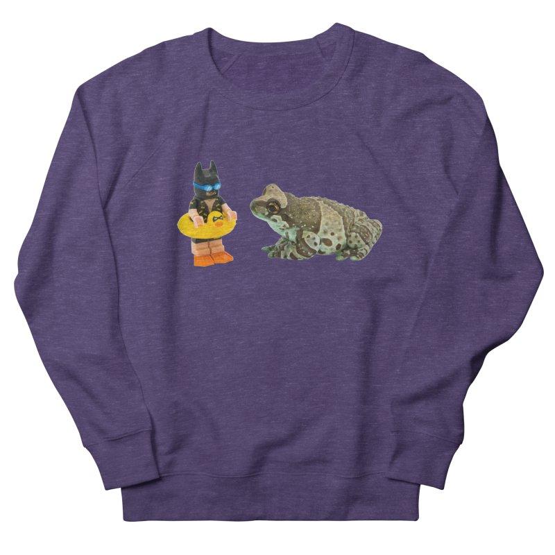 Amazon Milk Frog Chatting With Batman About His Swim Lesson Men's Sweatshirt by Gary Mc Alea Photography's Artist Shop